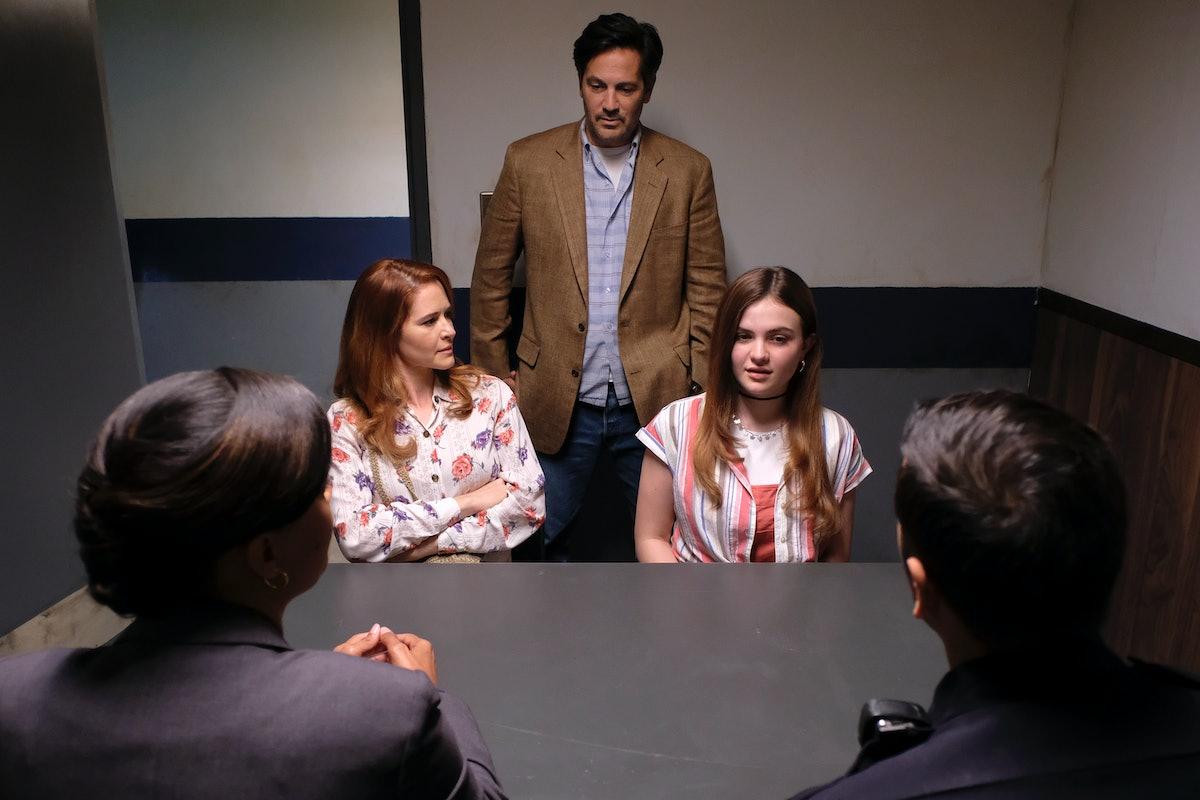 SARAH DREW, MICHAEL LANDES, and CHIARA AURELIA in Freeform's 'Cruel Summer'