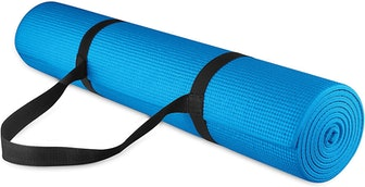 BalanceFrom GoYoga All-Purpose Yoga Mat With Carrying Strap