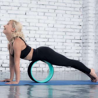Pete's Choice Yoga Wheel With Yoga Strap & Exercise Guide