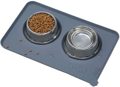 Hoki Found Silicone Waterproof Pet Feeding Mat