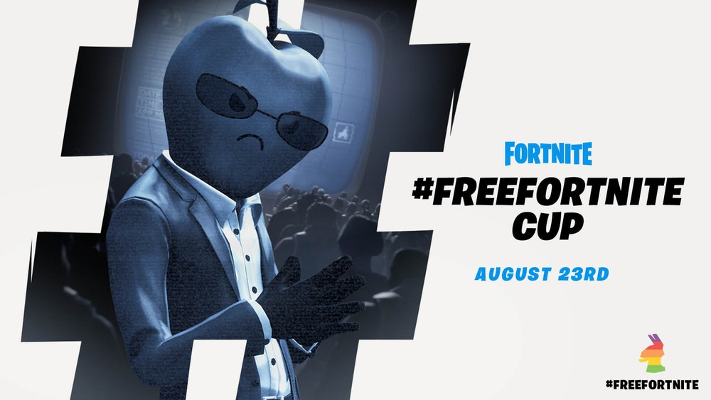 epic games free fortnite tournament advertisement