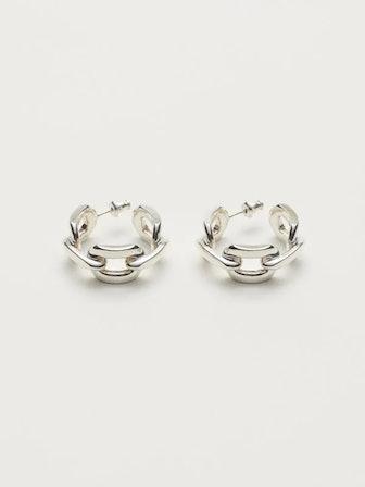 Chain Ring Earrings