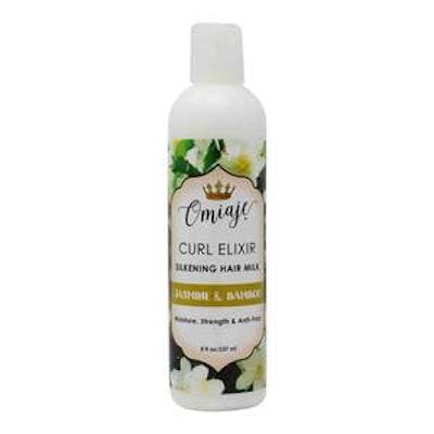 Curl Elixir   Jasmine & Bamboo Silkening Hair Milk