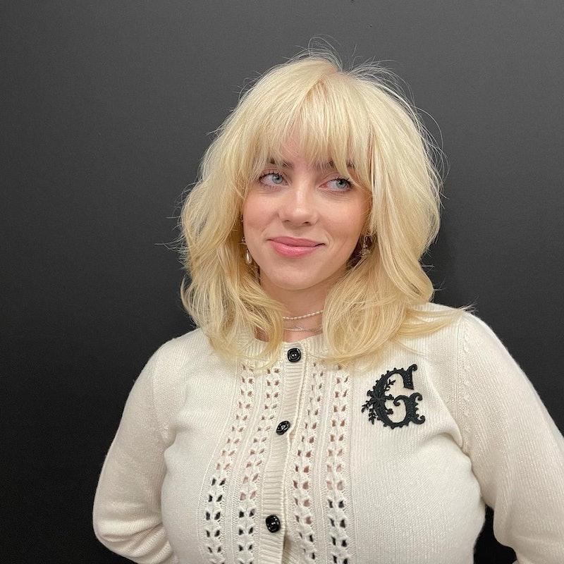 In an appearance on Ellen, Billie Eilish revealed that her blonde transformation took six weeks.
