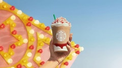 Starbucks' Strawberry Funnel Cake Frappuccino is here to make your summer dreams a reality.