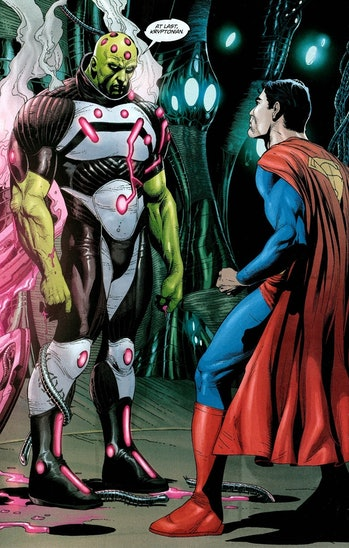 Action Comics Brainiac DC Comics