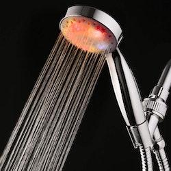 best LED showerheads