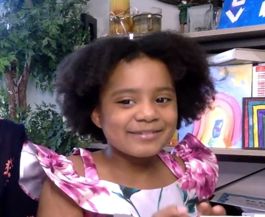"""Seven-year-old Morgan Bugg appears on """"The Choice"""" with Zerlina Maxwell to discuss how she inspired an educational app to include more racially diverse hairstyles."""