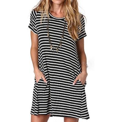 Alaster Loose T-Shirt Tunic Dress