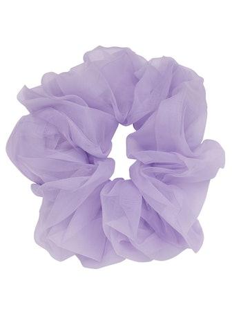 Paree lilac organza scrunchie