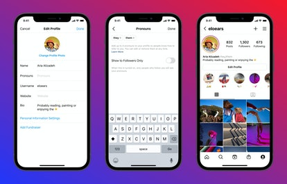 Here's how to add pronouns to your Instagram profile after this latest update on the app.