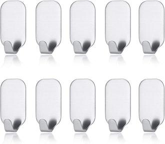 MXtechnic Self Adhesive Hooks (10 Pack)