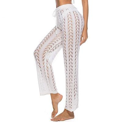 Kistore Crochet Cover-Up Pants