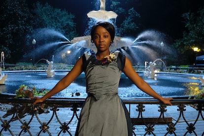 Thuso Mbedu as Cora in 'Underground Railroad' via Amazon press site.