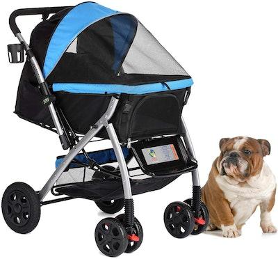 Rover Premium Heavy Duty Pet Stroller