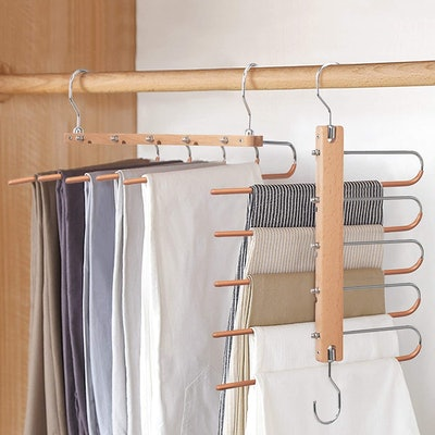 BILLKAQ Magic Pants Hangers