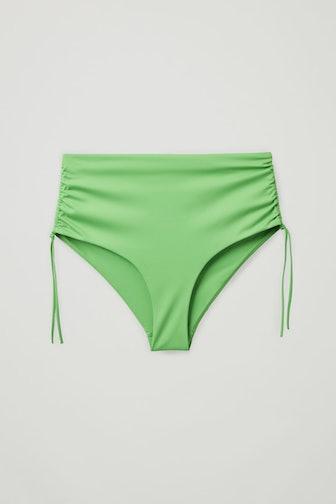 Drawstring Bikini Bottoms