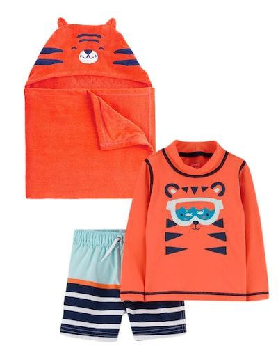 2-Pack Rashguard & Towel Set