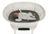 baby in mamaRoo bassinet