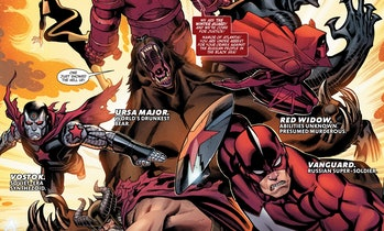 The Winter Guard in the Marvel Comics