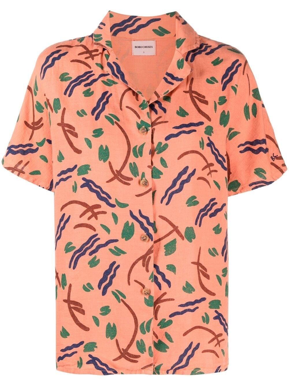 Bobo Choses Brush Stroke-print Shirt