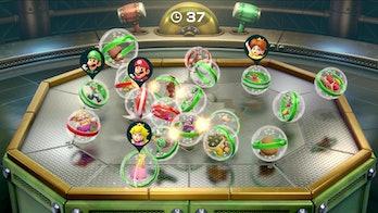 super mario party bumper ball minigame