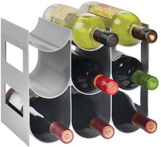mDesign Wine Rack