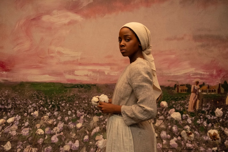 Thuso Mbedu as Cora in 'The Underground Railroad.'
