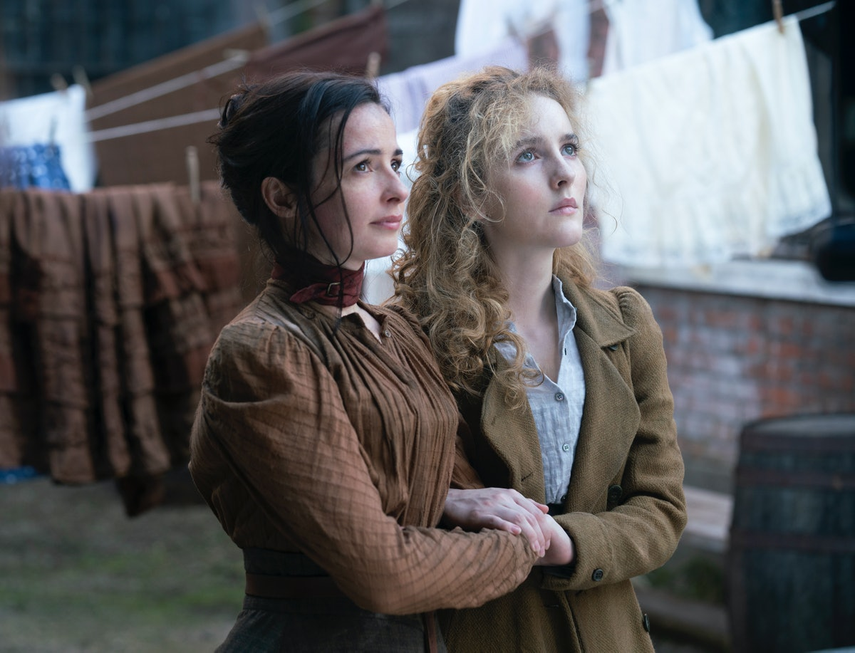 Ann Skelly and Laura Donnelly in HBO's The Nevers
