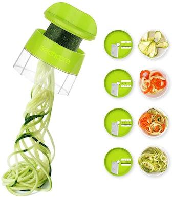 Sedhoom 4-in-1 Veggie Spiralizer