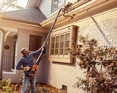 WORX Universal Gutter Cleaning Kit For Leaf Blowers