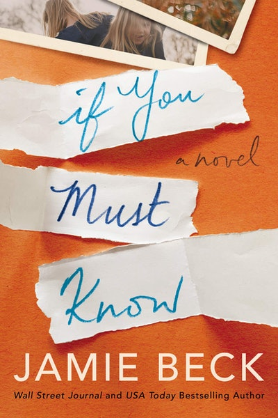 'If You Must Know' by Jamie Beck