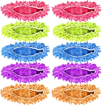 Milky House Microfiber Mop Slippers (5 Pairs)