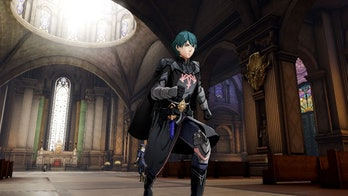fire emblem three houses byleth in the monestary