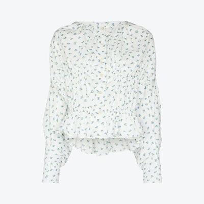 Yuhan Wang Floral printed blouse