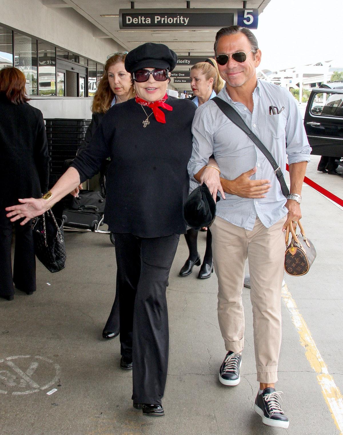 Liza at the airport