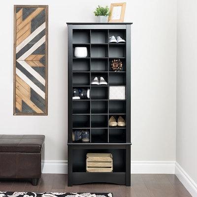 Prepac Tall 24-Pair Shoe Cabinet