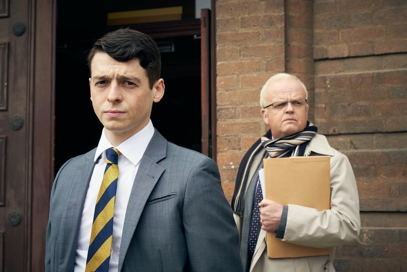 Brian Wood (ANTHONY BOYLE), Phil Shiner (TOBY JONES) in BBC's Danny Boyle