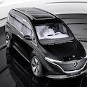 Mercedes-Benz EQT all-electric concept van.