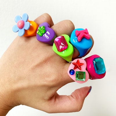 Bon Bon Whims Rainbow Lucky Rings