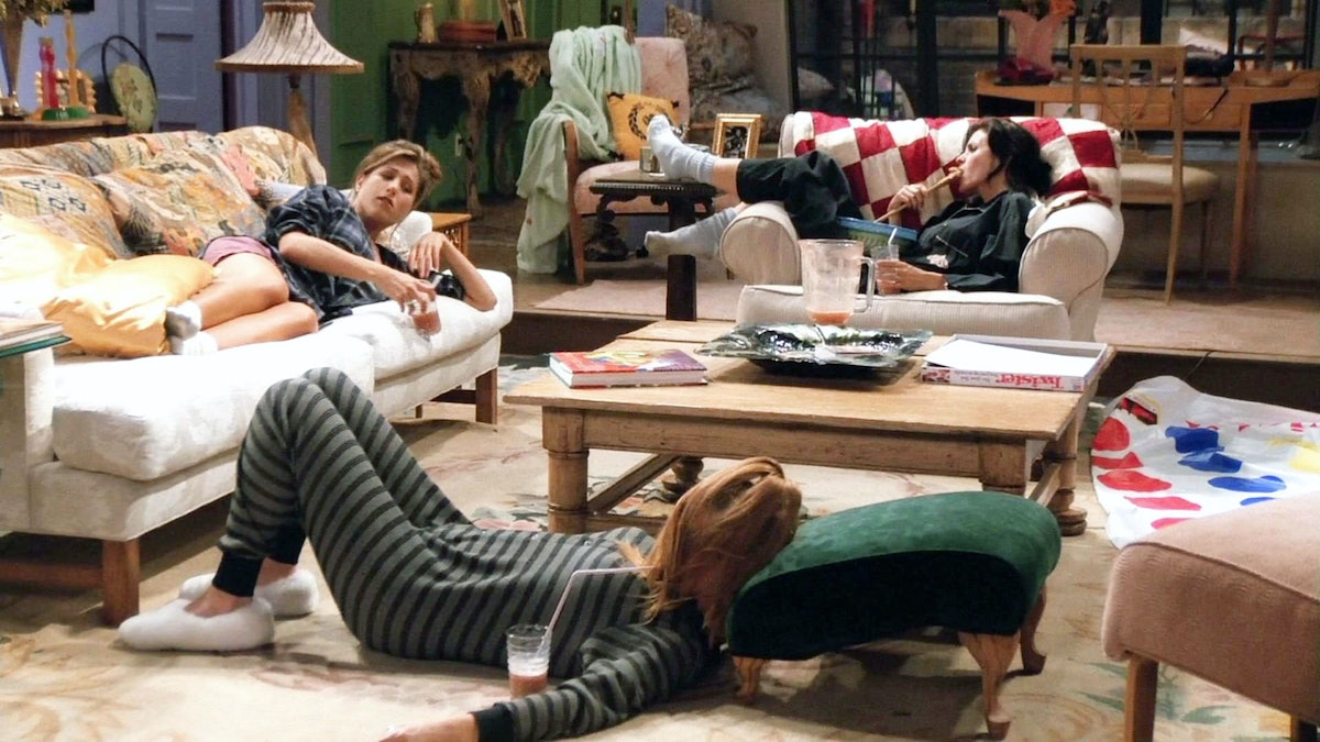 'Friends' Experience In NYC Sleepover