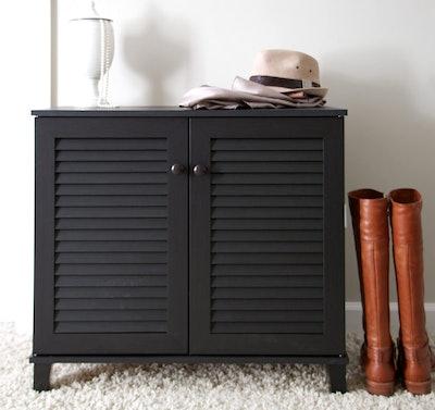 Baxton Studio Coolidge Shoe Cabinet