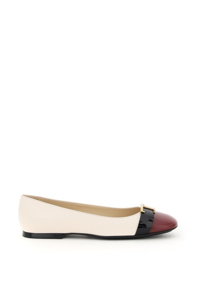 Tod's T Timeless Multicolor Ballet Flats