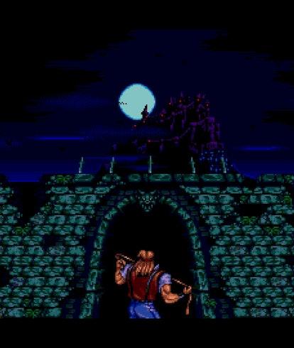 castlevania collection cutscene