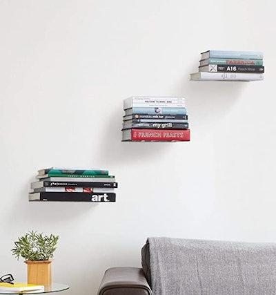 Umbra Conceal Floating Bookshelf (Set of 3)