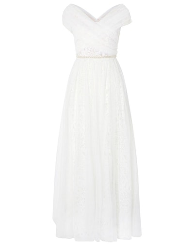 Laurie Lace & Tulle Bardot Bridal Dress