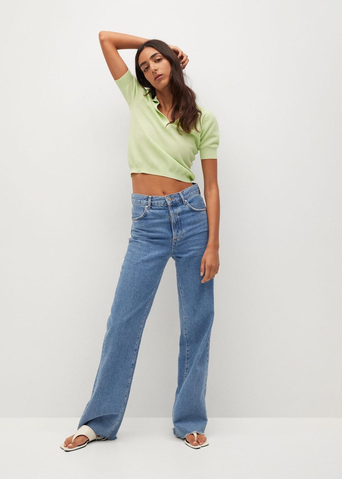 Knit Cotton Polo Shirt