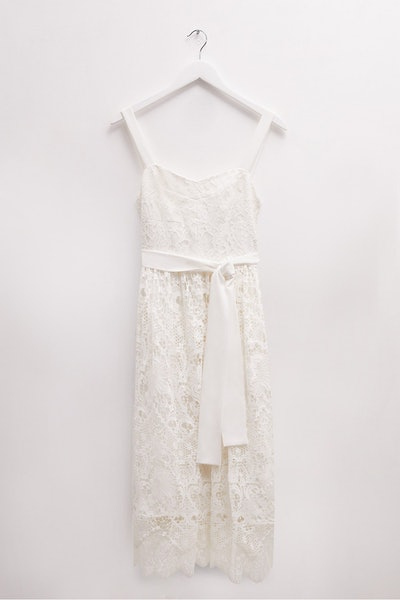Eliza Lace Fit & Flare Wedding Dress