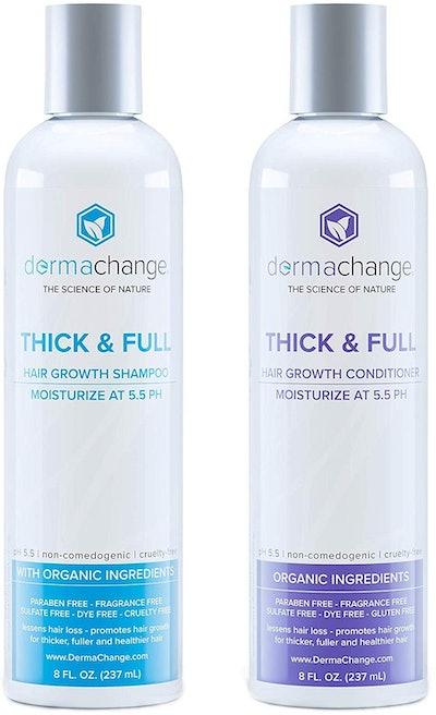 DermaChange Hair Growth Shampoo and Conditioner