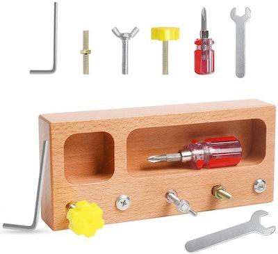 kizh Store Montessori Screw Driver Board Toys